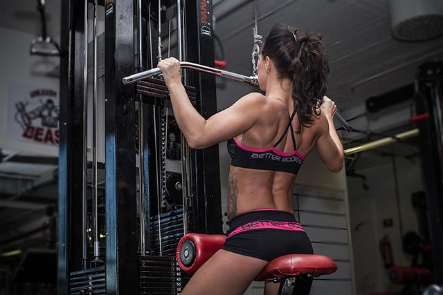 Kvinner vet gym